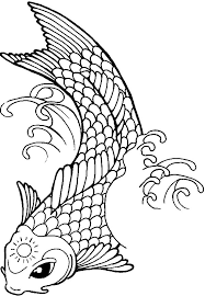 Small Picture Paradise Koi Fish Coloring Pages Paradise Koi Fish Coloring Pages