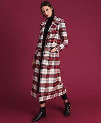 <b>Длинное</b> шерстяное <b>пальто</b> в <b>клетку</b> женщина, фантазия ...