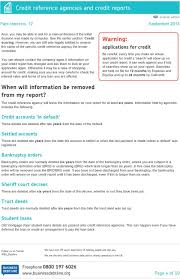 How To Check Credit References For Business Credit Reference Agencies And Credit Reports Pdf
