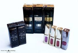 l oreal paris cannes 2016 makeup collection s swatches reviews