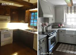 Kitchen Makeover Dear Lillie Our Kitchen Makeover Before And Afters And A Full