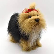 plush soft toy yorkshire terrier by hansa 36cm 5909