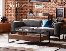 modern glass coffee table with storage