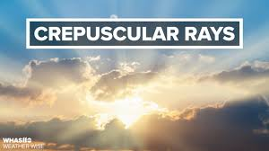 What are Crepuscular Rays? | Weather Wise Lessons - YouTube