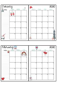 2020 Calendar Printable Free Printable 2020 Monthly Calendar