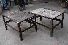 metal industrial furniture. Wood \u0026 Metal Industrial Tables Furniture D