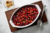 baked cranberry conserve