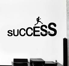 wall stickers for office. Success Career Ladder Job Wall Stickers Office Decor Removable Vinyl Decal For Room DIY Art Sticker Wallpaper ZB472-in From Home T