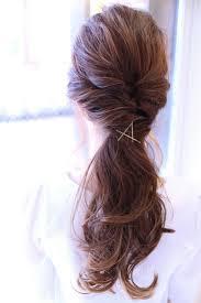結ぶだけじゃないかわいくてアレンジしやすいまとめ髪 Hair Line