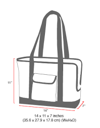 Tote Bag Size Chart Size Chart Pet Carrier Tote Bag Ver 2 Pet Bags Pet