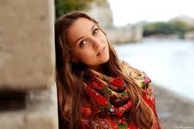 Pretty girl in french
