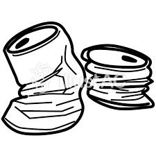 空き缶イラスト No 1143217無料イラストならイラストac