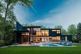 Modern Home in Oakville Ontario Modern Exterior Toronto by