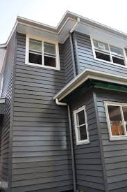 exterior house colours dulux. external house colours weatherboard exterior dulux mt eden, window trims vivid white, and shale grey for facsias - i fancy when the second level\u0027s on