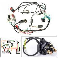 Circuit diagram symbols , electrical symbols | electrical components. 50cc 125cc Cdi Wire Harness Stator Assembly Wiring For Chinese Atv Electric Quad For Sale Online Ebay