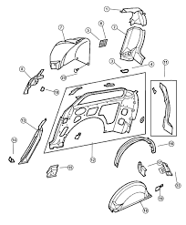 Dodge sliding door parts photos