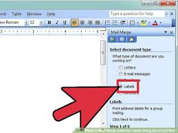 how to print labels from excel how to mail merge address labels using excel and word 14 steps