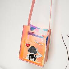 holographic phone <b>purse cartoon</b> print <b>Handbags</b> Laser Shoulders ...