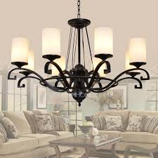 wrought iron 8 light country style chandeliers with 0 39w for modern house country style chandeliers ideas