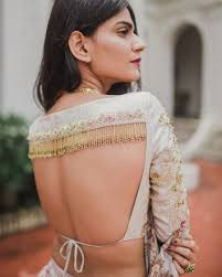 String Blouse Designs 23 Sexy Backless Blouse Designs That Are Sure To Turn Some