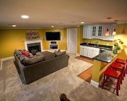 Basement Apartment Design Gorgeous Amazing Basement Apartment Idea 48 Small Decorating Pinterest Tiny