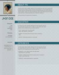 Softcold Psd Resume Template Open Resume Templates