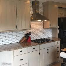 Diy Kitchen Tile Backsplash Dos And Donts From A First Time Diy Subway Tile Backsplash