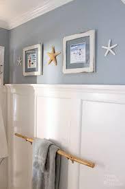 coastal bathroom designs: seaside theme bathroom refresh lowescreator pretty handy girl