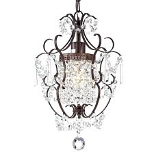 crystal and bronze chandelier 5