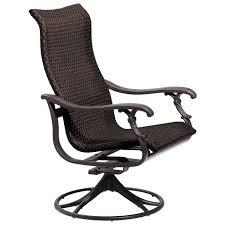 ravello woven swivel rocker tropitone patio lounge chair