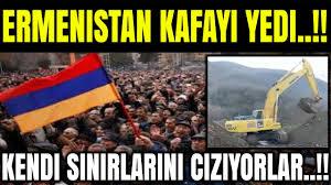 Ermenistan kafayı yedi! Kendi sınırlarını çiziyorlar! (Azerbaycan Türkiye  Rusya Son Dakika ) - YouTube