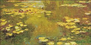 claude monet pond of waterlilies