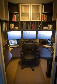 custom home office design. Home-Office-in-a-Closet.jpg Custom Home Office Design R