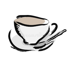 Image result for coffee cup drawing images