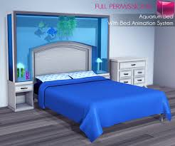 Meli Imako Full Perm Mesh Aquarium Bed With Bed Animation System