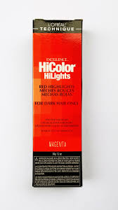 l oreal excellence hicolor hilights for dark hair only magenta highlights colour 1 of 1 see more