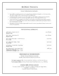 Resume Examples Hospitality Resume Summary Examples Hospitality Danayaus 18