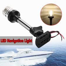 Led Anchor Light Sailboat Fold Down Fold Down Led Navigation Light For Yacht Boat