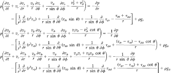 navier stokes equation for newtonian 1 in shear stress form