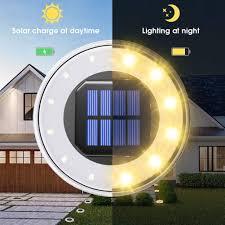 Disk Lights Solar Best Deal 207d2 Solar Ground Light 12 Led Solar Disk