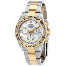 rolex cosmograph daytona mother of pearl diamond steel and 18k rolex cosmograph daytona mother of pearl diamond steel and 18k yellow gold men s watch review