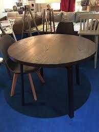 john lewis calia round 6 seater dining table dark rrp 499