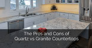 Kitchen Countertop Designs Beauteous Pros And Cons Of Quartz Vs Granite Countertops The Complete Rundown