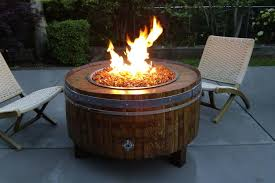 image of natural gas outdoor fire pit