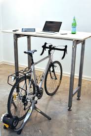 Bicycle Furniture Kickstand Furniture Lets You Cycle At Your Desk Visi