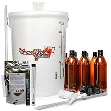 home brew standard starter equipment pack with bottles