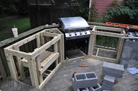 how to build an outdoor kitchen with wood frame with how to build an for outdoor