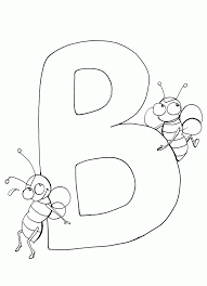 Download Coloring Pages: Letter B Coloring Pages Letter B Coloring ...
