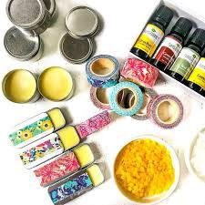 easy lip balm using essential oils