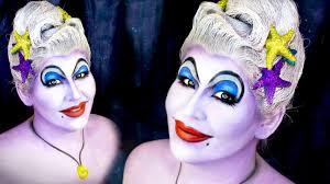 ursula the sea witch makeup tutorial you